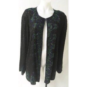 Women Sequin Jacket Size 3X